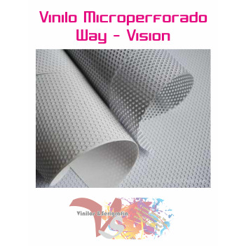 Vinilo Microperforado Way Vision - Ancho 137 cm - Vinilos y Serigrafía