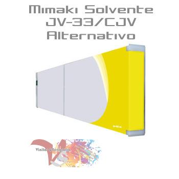 Amarillo - Tinta Solv. Mimaki JV-33/CJV Alternativo - Vinilos y Serigrafía