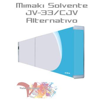 Cyan - Tinta Solv. Mimaki JV-33/CJV Alternativo - Vinilos y Serigrafía
