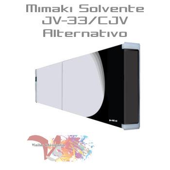 Negro - Tinta Solv. Mimaki JV-33/CJV Alternativo - Vinilos y Serigrafía