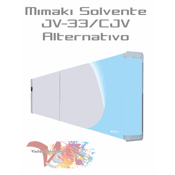 Cyan Claro - Tinta Solv. Mimaki JV-33/CJV Alternativo - Vinilos y Serigrafía