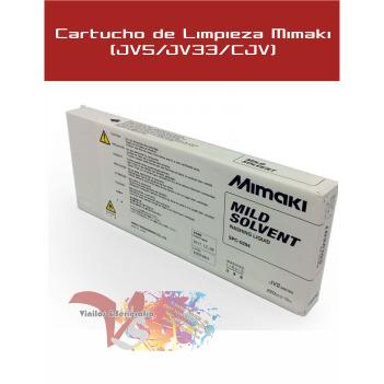 Cartucho de Limpieza Mimaki (JV5/JV33/CJV) Alternativo - Vinilos y Serigrafía