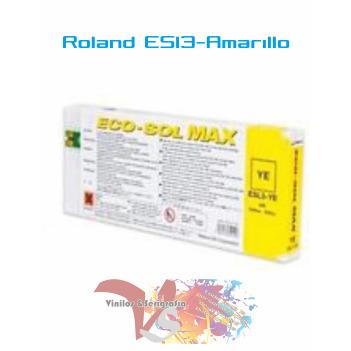 Amarillo 440 cc - Roland ECO-SOL MAX Originales - Vinilos y Serigrafía