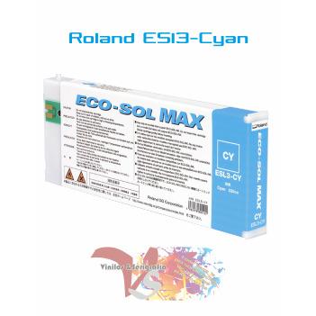 Cyan 220 cc - Roland ECO-SOL MAX Originales - Vinilos y Serigrafía