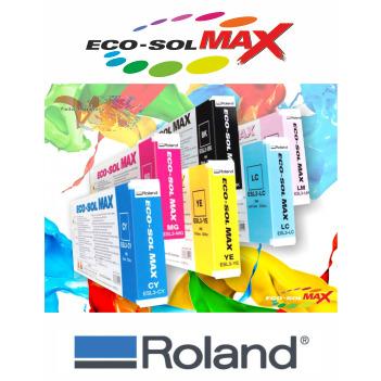 Negro 440 cc - Roland ECO-SOL MAX Originales - Vinilos y Serigrafía