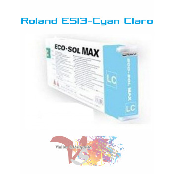Cyan Claro 220 cc - Roland ECO-SOL MAX Originales - Vinilos y Serigrafía