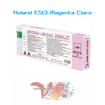 Magenta Claro 440 cc - Roland ECO-SOL MAX Originales - Vinilos y Serigrafía