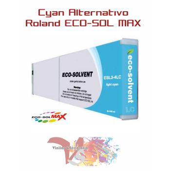 Cyan 440 cc - Roland ECO-SOL MAX Altern. - Vinilos y Serigrafía