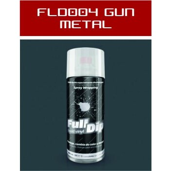 FLD004 Gun Metal Mate - 400 ml - Vinilos y Serigrafía
