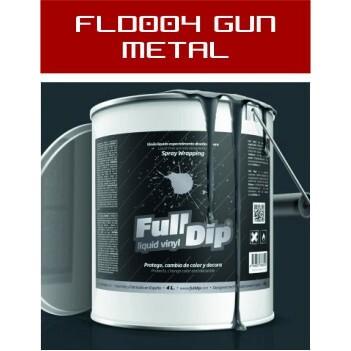 FLD004 Gun Metal Mate - 4 Lt - Vinilos y Serigrafía