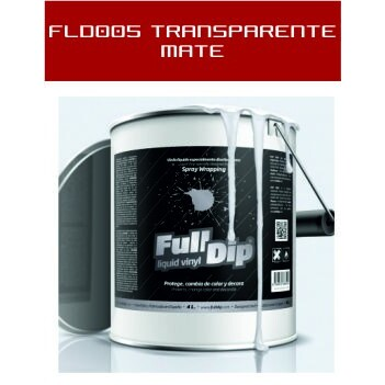 FLD005 Transparente Mate - 4 Lt - Vinilos y Serigrafía