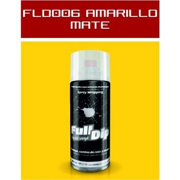 FLD006 Amarillo Mate - 400 ml - Vinilos y Serigrafía
