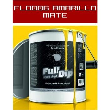 FLD006 Amarillo Mate - 4 Lt - Vinilos y Serigrafía