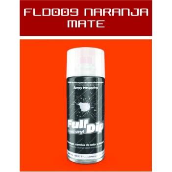 FLD009 Naranja Mate - 400 ml - Vinilos y Serigrafía