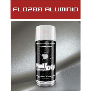 FLD200 Aluminio Metalizado - 400 ml - Vinilos y Serigrafía