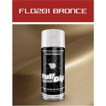FLD201 Bronce Metalizado - 400 ml - Vinilos y Serigrafía
