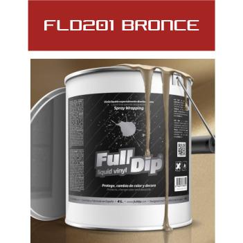 FLD201 Bronce Metalizado - 4 Lt - Vinilos y Serigrafía