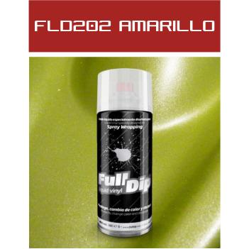 FLD202 Amarillo Metalizado - 400 ml - Vinilos y Serigrafía
