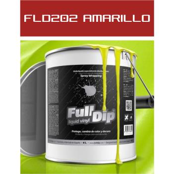 FLD202 Amarillo Metalizado - 4 Lt - Vinilos y Serigrafía