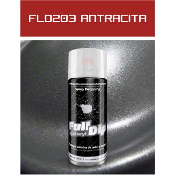 FLD203 Antracita Metalizado - 400 ml - Vinilos y Serigrafía