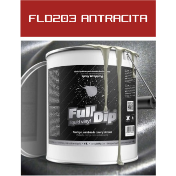 FLD203 Antracita Metalizado - 4 Lt - Vinilos y Serigrafía