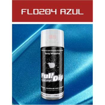 FLD204 Azul Metalizado - 400 ml - Vinilos y Serigrafía