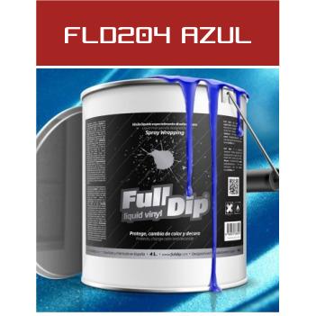 FLD204 Azul Metalizado - 4 Lt - Vinilos y Serigrafía