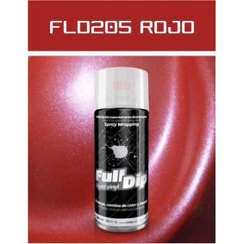 FLD205 Rojo Metalizado - 400 ml - Vinilos y Serigrafía