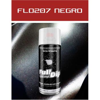 FLD206 Negro Metalizado - 400 ml - Vinilos y Serigrafía