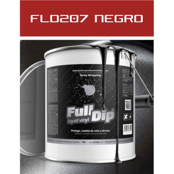FLD207 Negro Metalizado - 4 Lt - Vinilos y Serigrafía