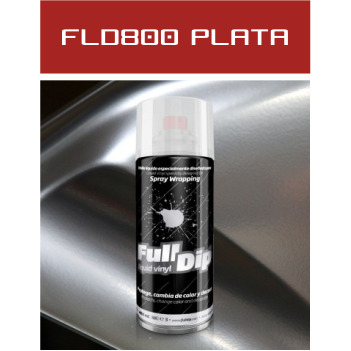 FLD800 Plata Cromado - 400 ml - Vinilos y Serigrafía
