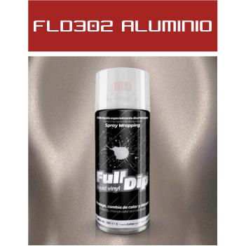 FLD302 Aluminio Perlado - 400 ml - Vinilos y Serigrafía