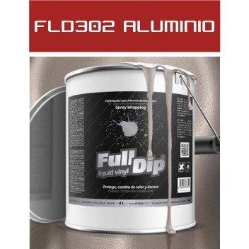 FLD302 Aluminio Perlado - 4 Lt - Vinilos y Serigrafía