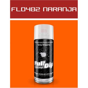 FLD402 Naranja Flúor - 400 ml - Vinilos y Serigrafía