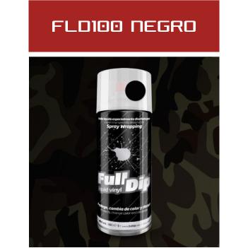 FLD100 Negro Militar - 400 ml - Vinilos y Serigrafía