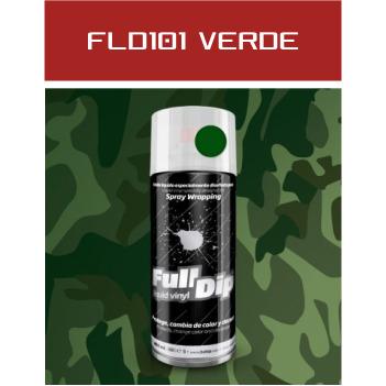 FLD101 Verde Militar - 400 ml - Vinilos y Serigrafía