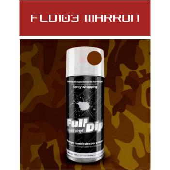 FLD103 Marrón Militar - 400 ml - Vinilos y Serigrafía