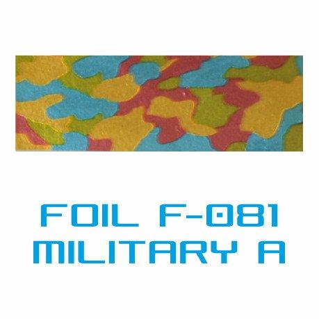 Lámina Foil F-081 MILITARY A - Vinilos y Serigrafía