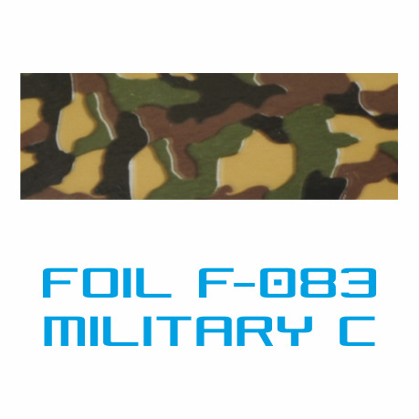 Lámina Foil F-083 MILITARY C - Vinilos y Serigrafía