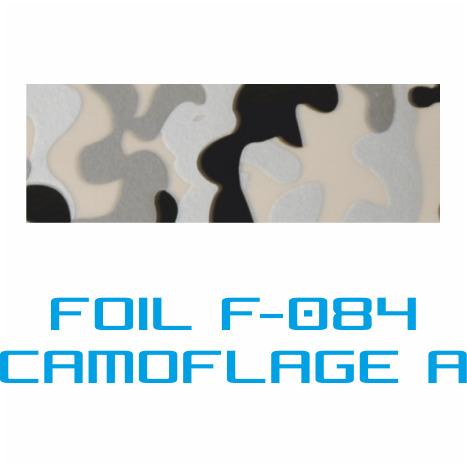 Lámina Foil F-084 CAMUFLAJE A - Vinilos y Serigrafía