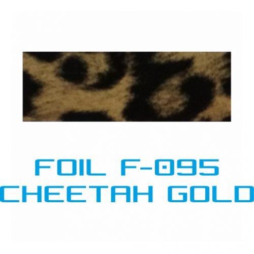 Lámina Foil F-095 CHEETAH GOLD - Vinilos y Serigrafía
