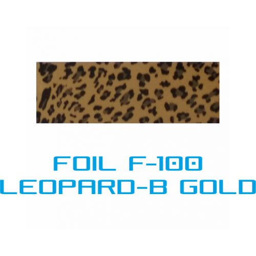 Lámina Foil F-100 LEOPARD-B GOLD - Vinilos y Serigrafía