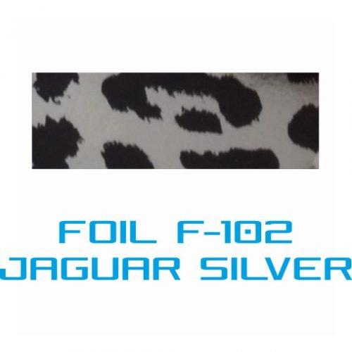 Lámina Foil F-102 JAGUARD SILVER - Vinilos y Serigrafía
