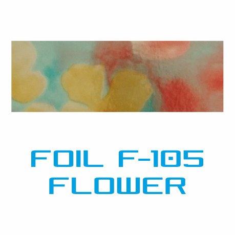 Lámina Foil F-105 FLOWER - Vinilos y Serigrafía