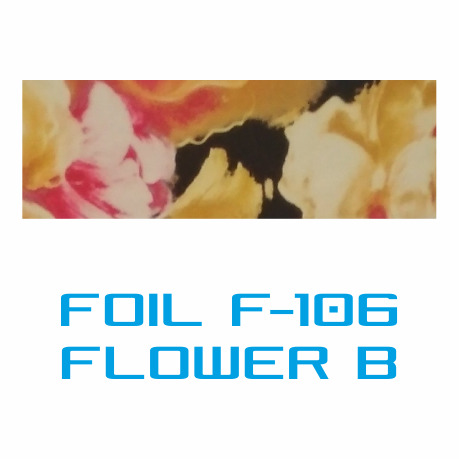 Lámina Foil F-106 FLOWER B - Vinilos y Serigrafía