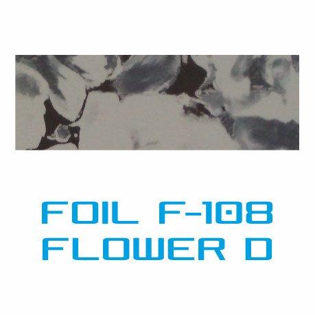 Lámina Foil F-108 FLOWER D - Vinilos y Serigrafía