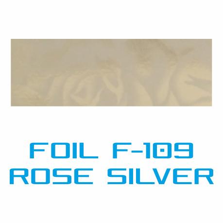 Lámina Foil F-109 ROSE SILVER - Vinilos y Serigrafía