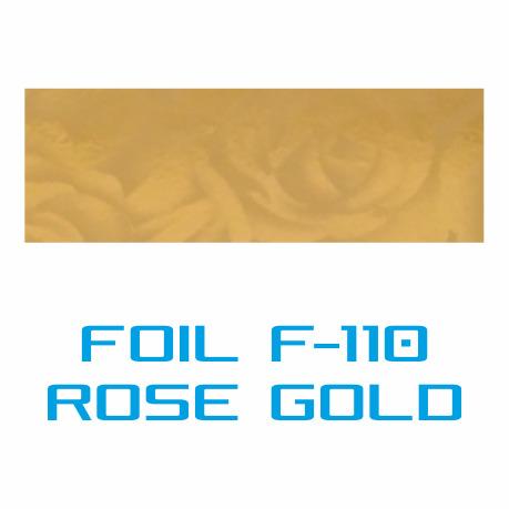 Lámina Foil F-110 ROSE GOLD - Vinilos y Serigrafía