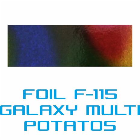 Lámina Foil F-115 GALAXY MULTI POTATOS - Vinilos y Serigrafía
