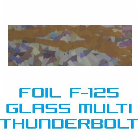 Lámina Foil F-125 GLASS THUNDERBOLT - Vinilos y Serigrafía